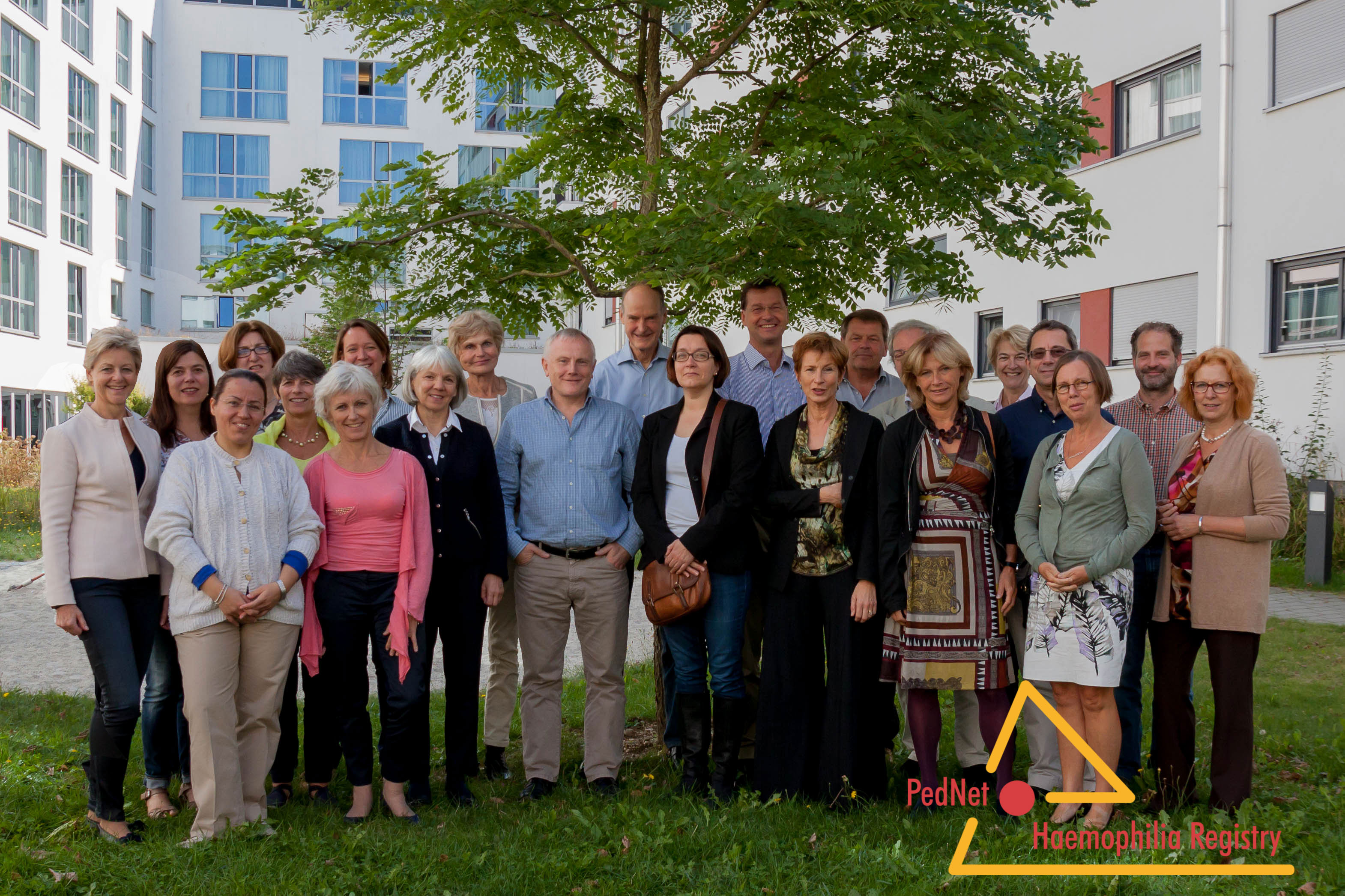Group Photo PedNet meeting Munich 2015